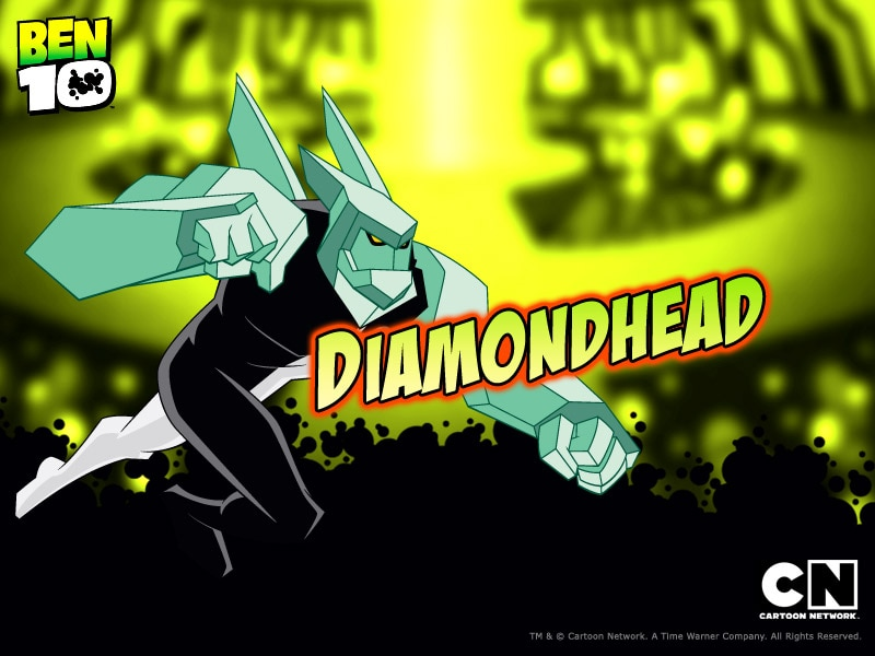 ben 10 diamondhead picture and free wallpaper cartoon network